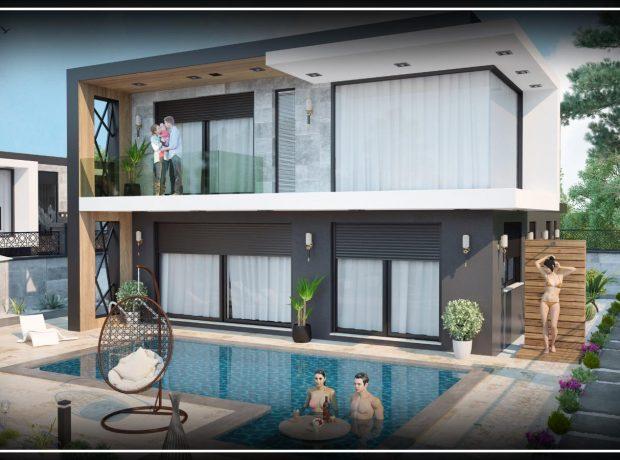 Luxury brand new villas in Didim