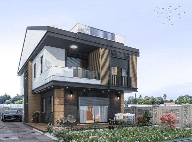 For sale off plan villa in Altinkum