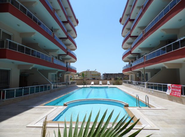 Fully furnished 3 bedroom penthouse in Didim