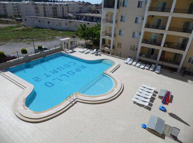 furnished 2 bedroom apartment in Altinkum