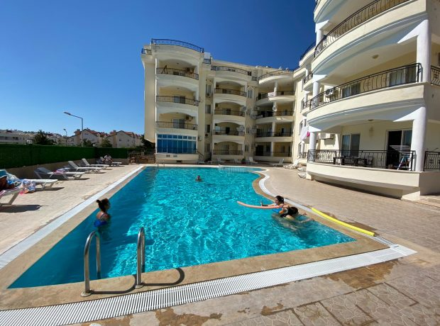 -SOLD- For sale 2 bed lovely ground floor apartment located in Didim