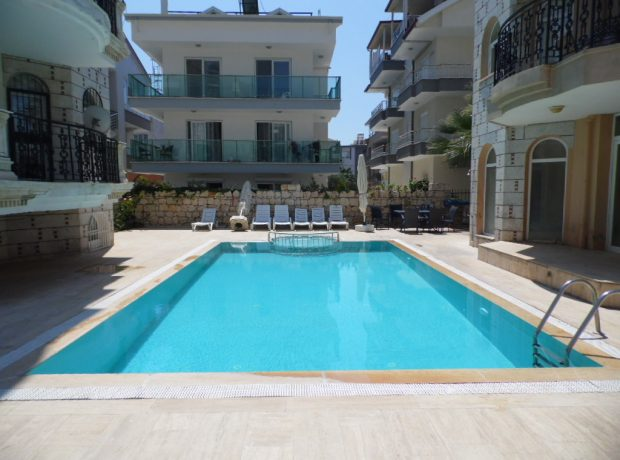 Fully furnished luxury 3 bedroom penthouse in Didim