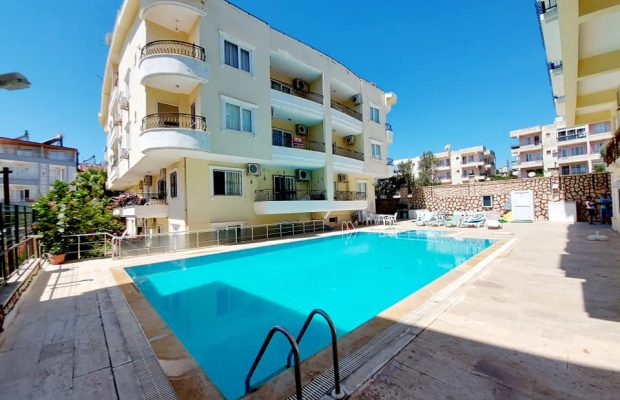 fully furnished 2 bedroom apartment in Didim