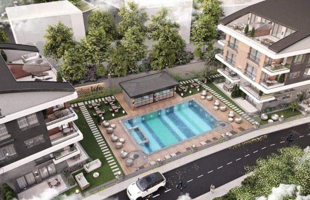 Luxury apartments in Didim efeler area