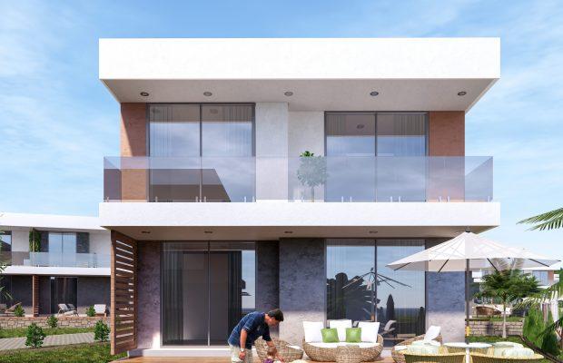 A luxury 3 bedroom villas on a great complex in Akbuk