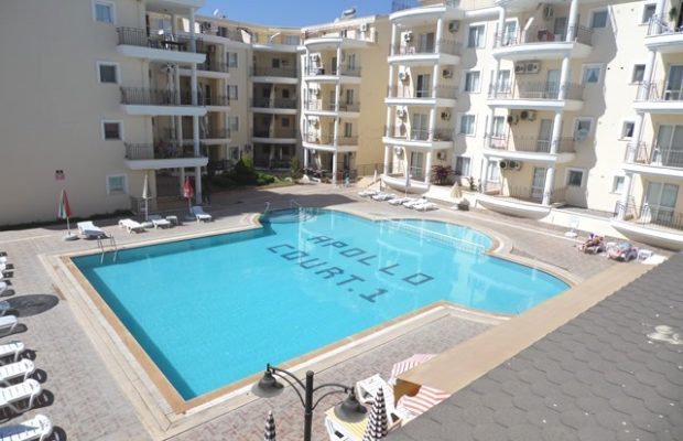 3 bedroom apartment on a well kept complex in Didim