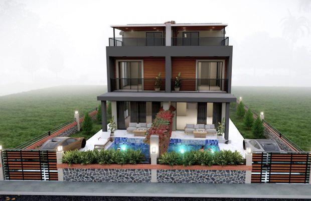 Brand new 2 semi detached villas in Didim