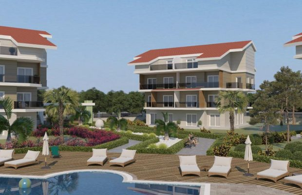Off Plan Apartments İn Didim Town center
