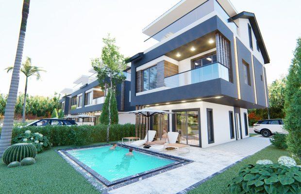 luxury and modern 4 bed villas in Didim Efeler area