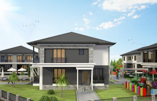 Off plan semi-detached villas